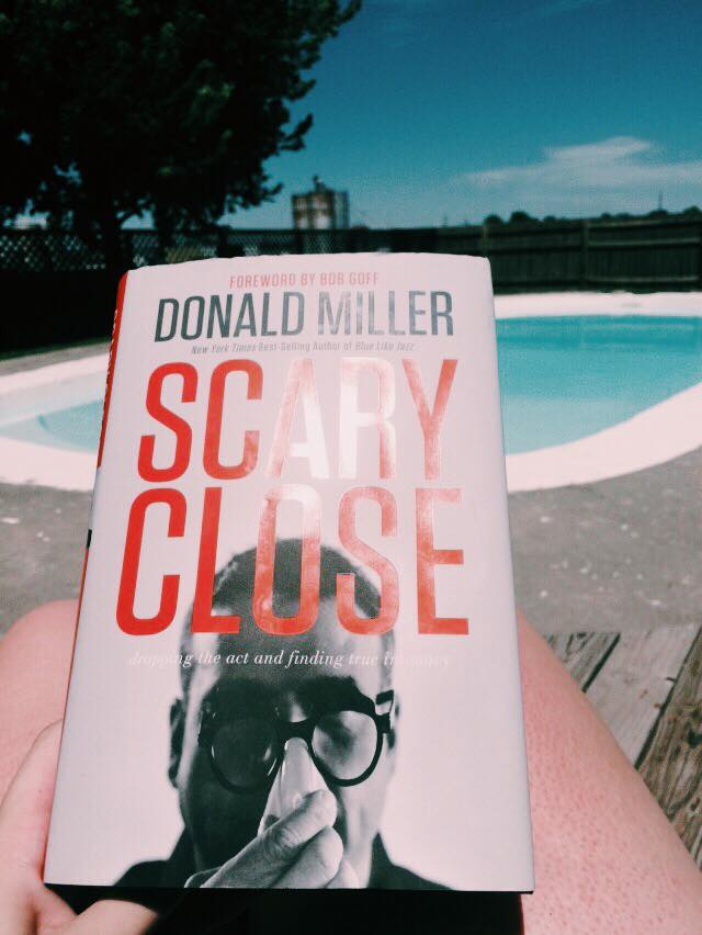 scary close by donald miller blog review emilee