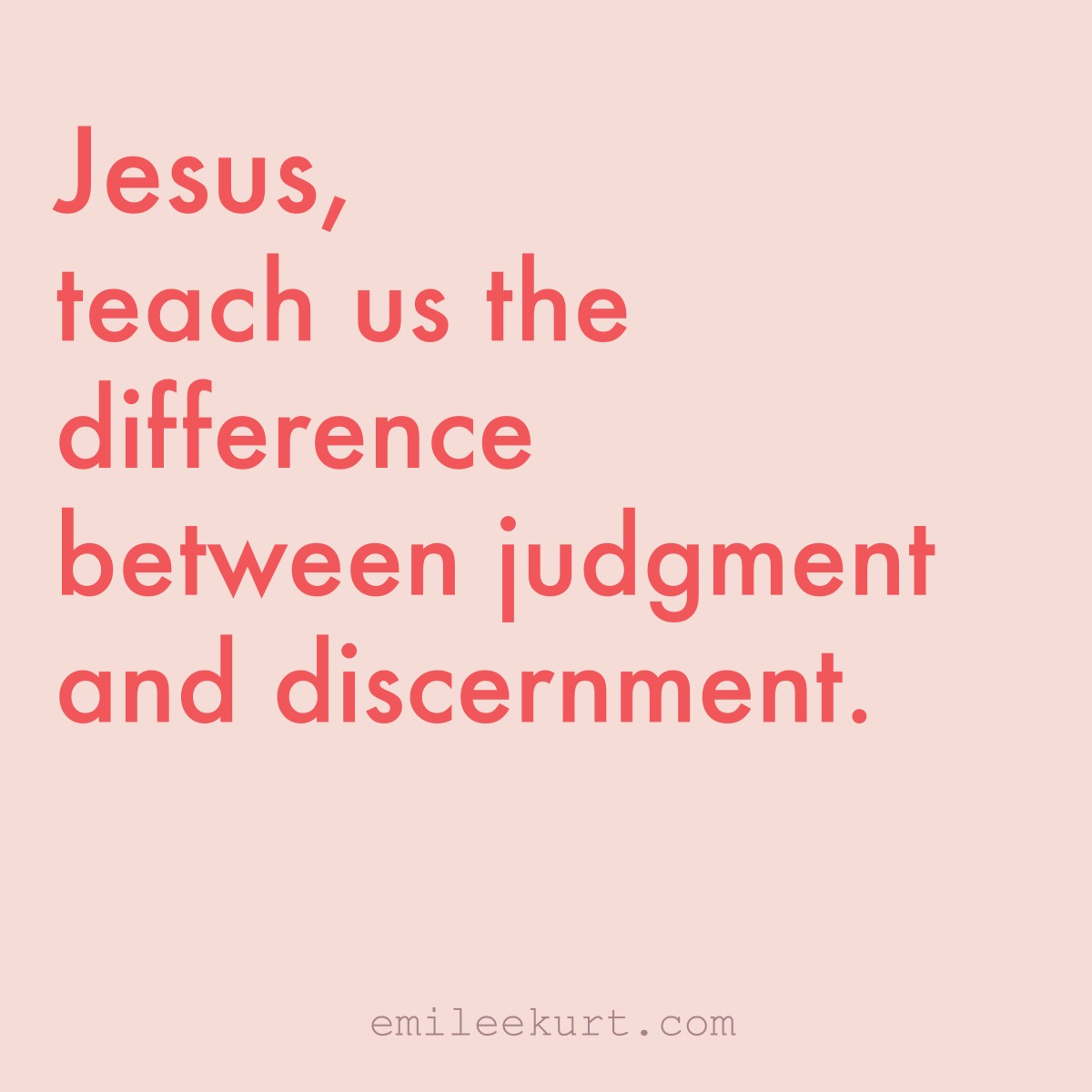 blog on judgment